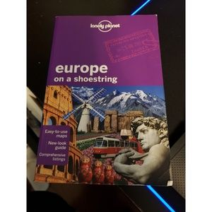 Other - Lonely Planet - Europe on a Shoestring